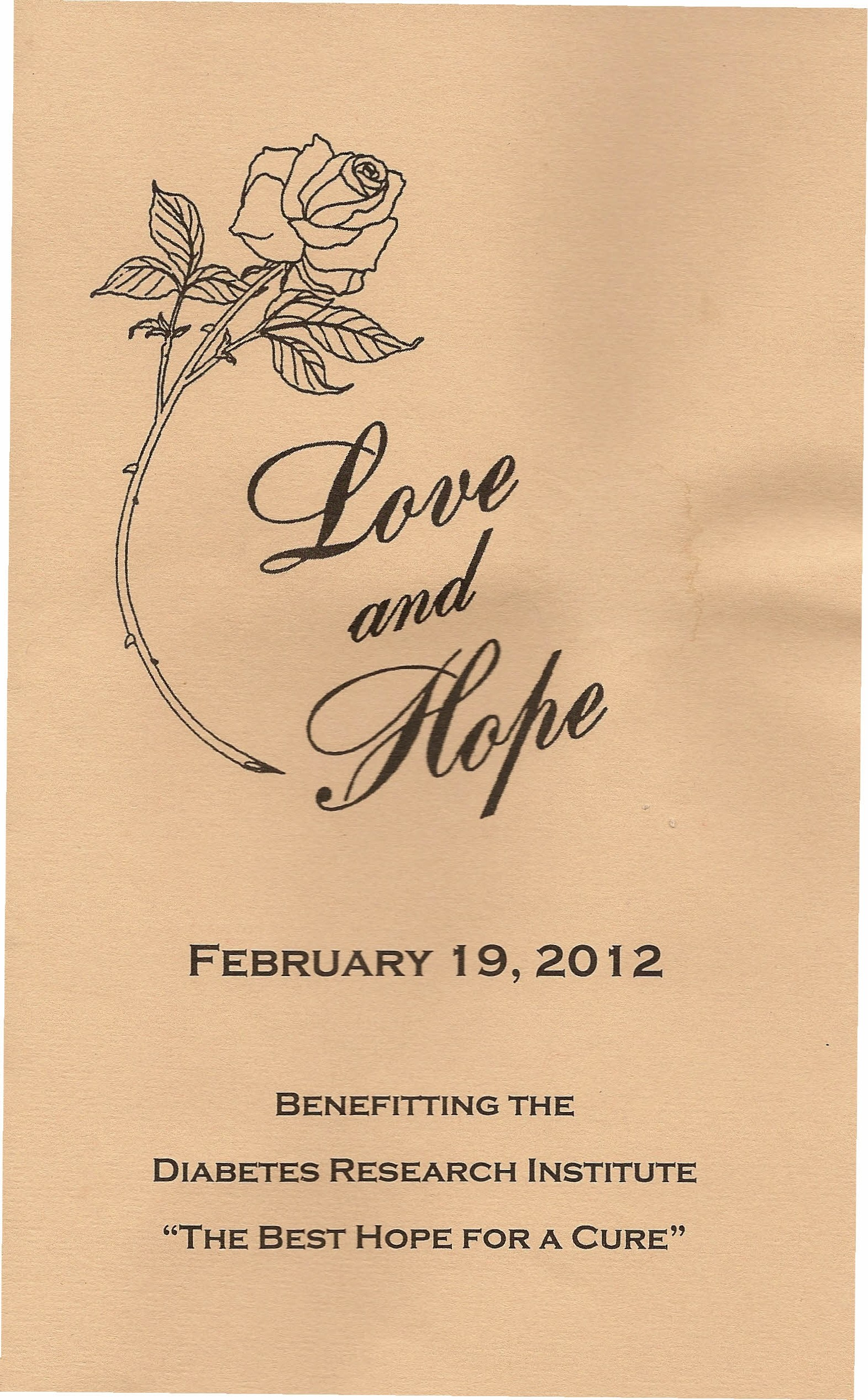 Love and Hope Ball